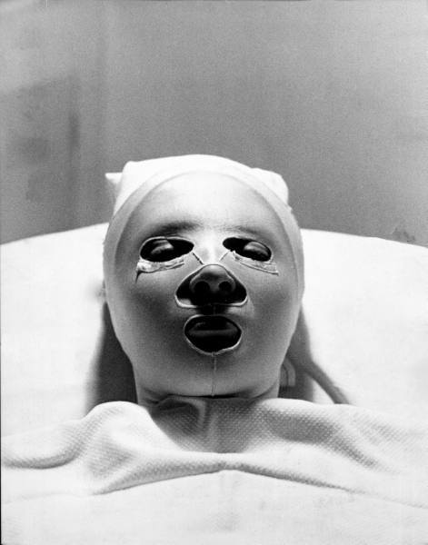 face mask 1920s