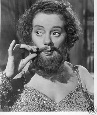 elsa lanchester beard