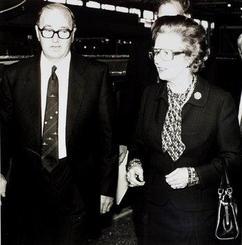 Margaret Thatcher at British Aerospace-thumb-350x354