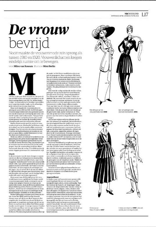 Mimi Berlin fashion Illustration