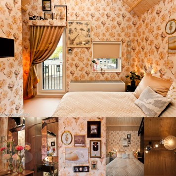 design/styling room 34 at Hotel Modez