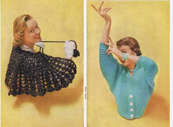 vintage knitted tops