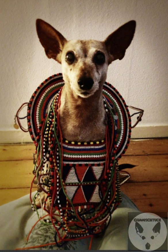 Gummischtuck goes Tribal mimi berlin