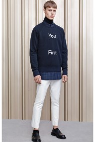 Acne Studio's: deep text