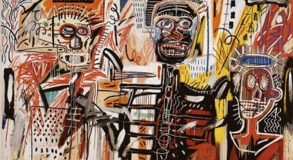Philistines by Basquiat