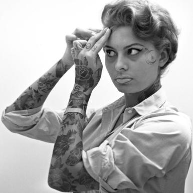 Sophia Loren by Cheyenne Randall Art