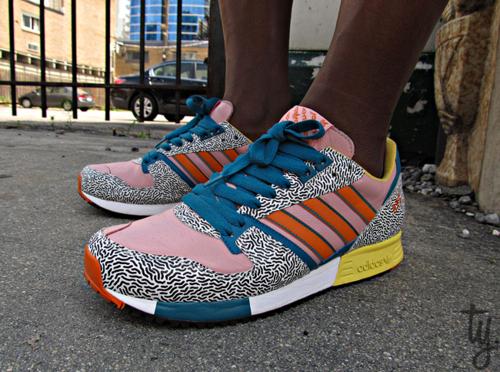 postmodern adidas sneakers