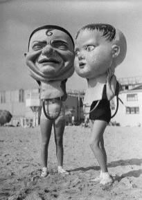 Disproportionately Large Masks