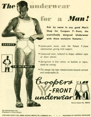 Vintage Underwear Alphabet