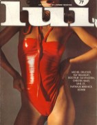 Vintage Lui Magazine Covers