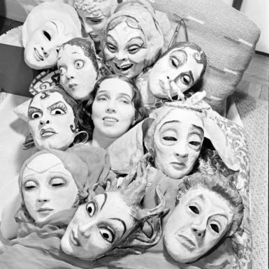 Mask Dances by Margaret Severn
