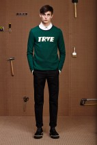 Menswear Fall 2015 The Green Sweater