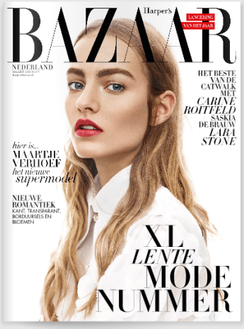 Harper's Bazaar March 2015