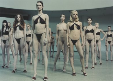 Vanessa Beecroft, VB35, Guggenheim New York, 1998