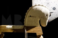 Marcel Wanders' giant rocking unicorn, Arion