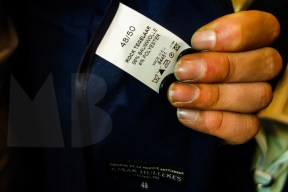 custom made suits for the workmates designed by sjaak hullekes