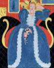 Henri Matisse Woman-in-Blue-low