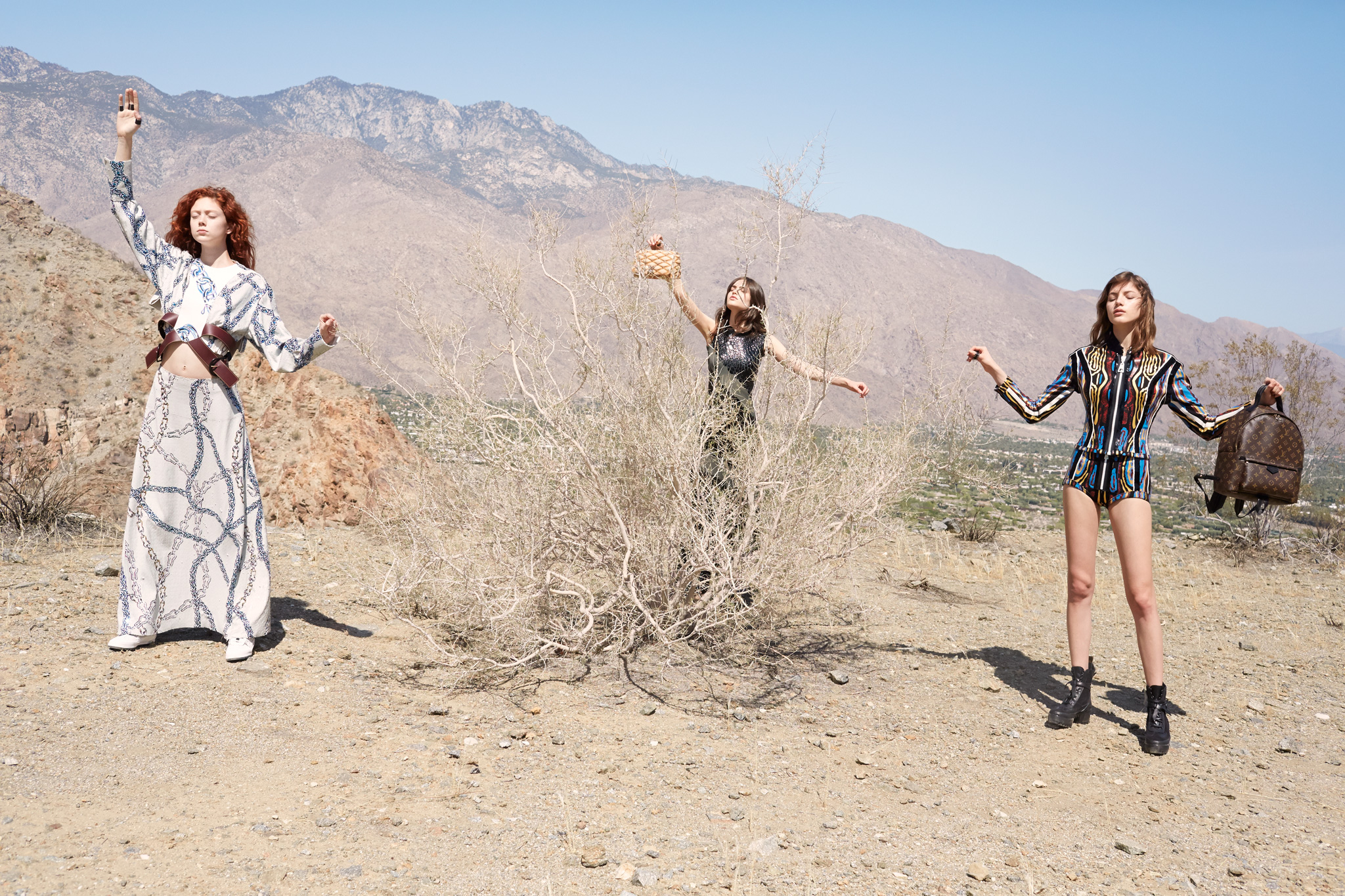 Resort 2016: Louis Vuitton in the Desert of Palm Springs