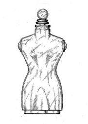 Shocking perfume bottle by Schiaparelli