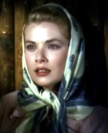 Grace Kelly/Princess Grazia with a Head Scarf