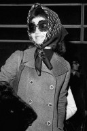 Jackie Kennedy/Onassis in a Headscarf