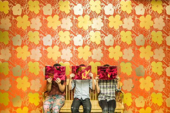 Andy Warhol x Flavor Paper