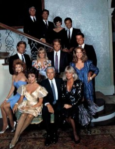 TV Family Portraits with a Staircase