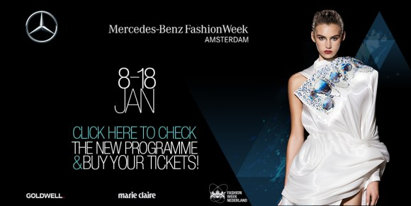 Dress designed by Jef Montes on the banner programme website MBFWA