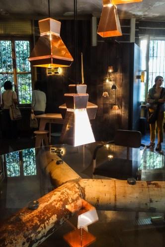 rossana orlandi shop, on exhibit; piet hein eek