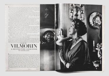 Haute Cuisine: French Novelist Louise de Vilmorin's Recipes From the Pages of Vogue