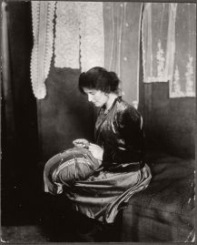 Portrait of Miss Povry, ca. 1918-1920