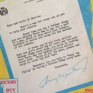 Wonder Woman promoting bonds and stamps 1942 mimi berlin's attic treasues (image mimi berlin)