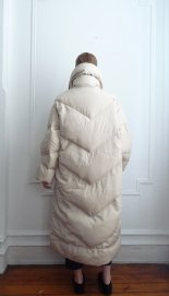 1980s puffer coat from Bill Blass