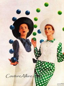 Dots in Vintage Fashion