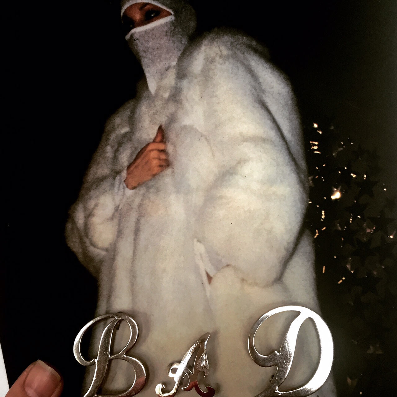 'Bad' from Mimi Berlin's VintageDeluxe Fashion Accessories Artworks #1
