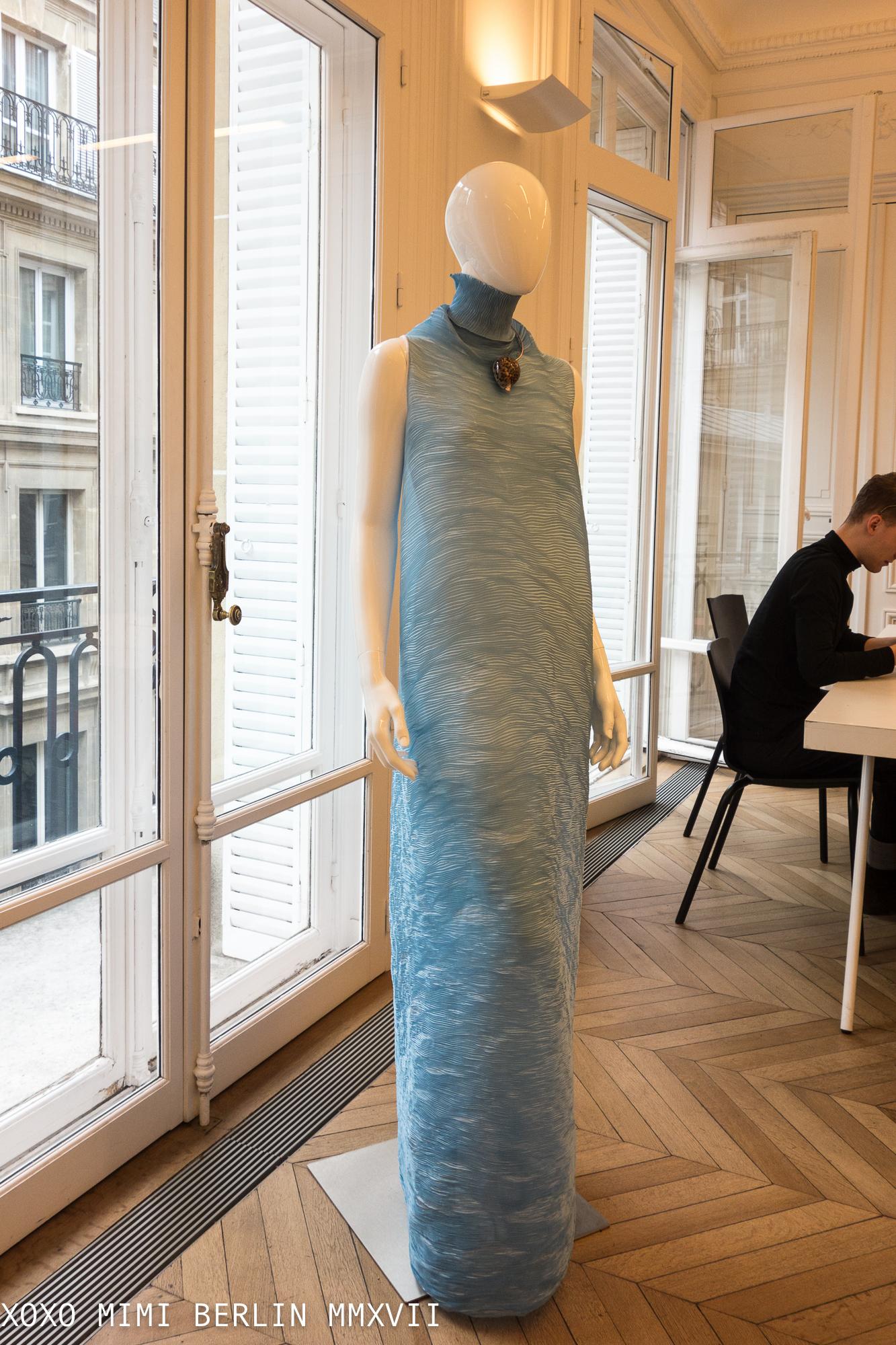 At Peet Dullaert's Showroom in the Atelier Neérlandais, Paris