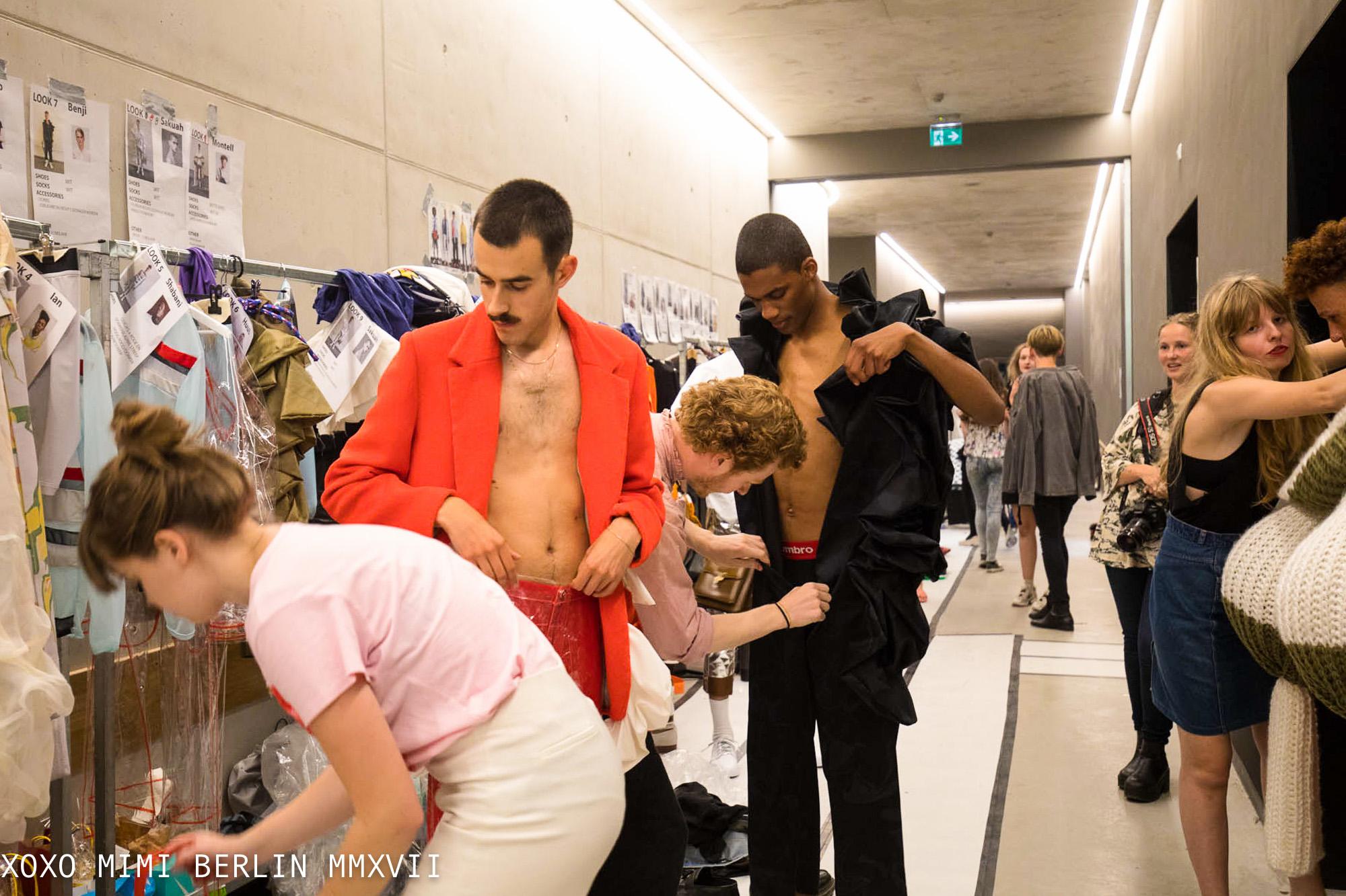 mimi berlin backstage