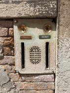 Doorbells in Venice/Venezia