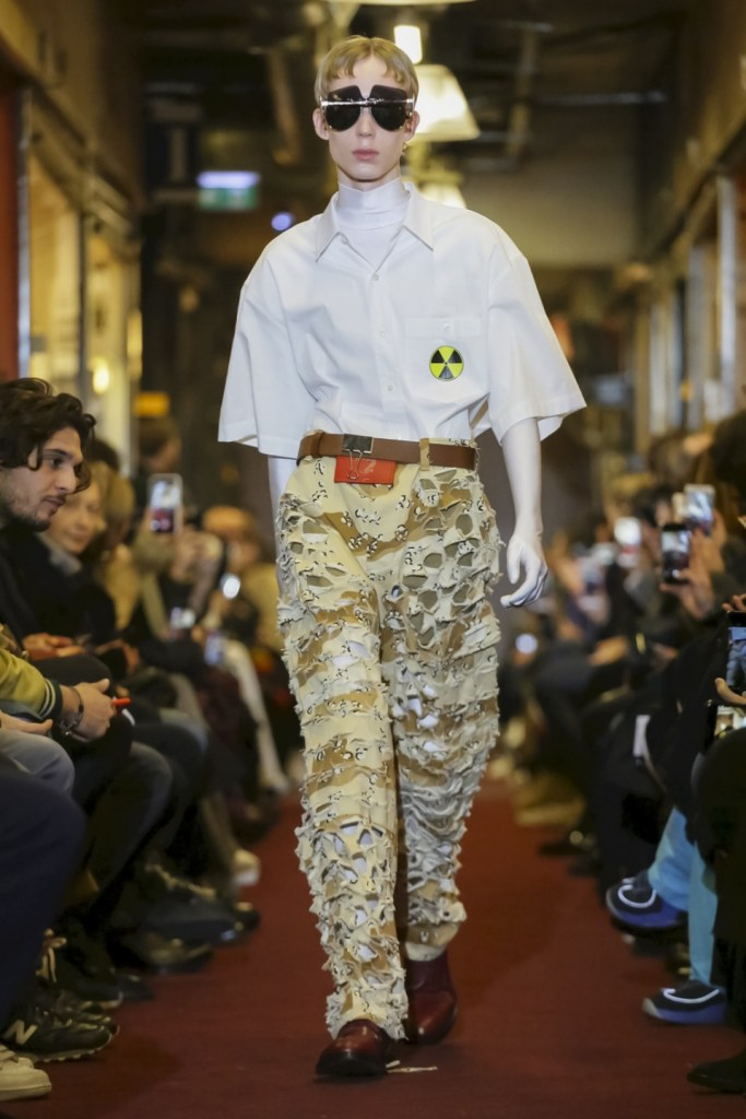 Vetements runway