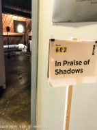 In Praise of Shadows room