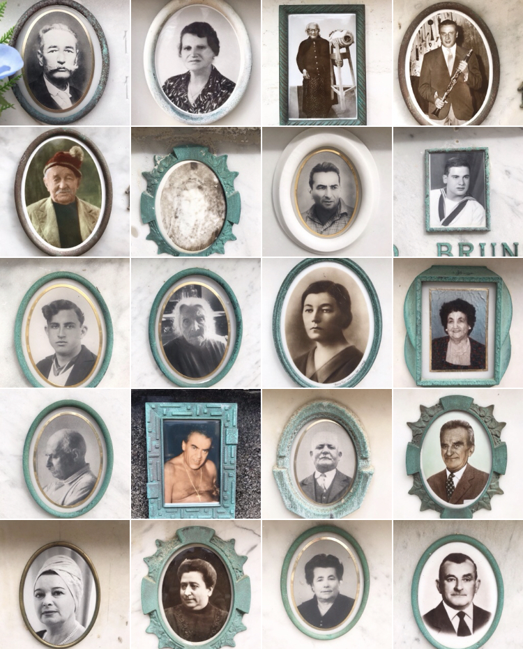 Photography: 30 dead Italian People by Mimi Berlin