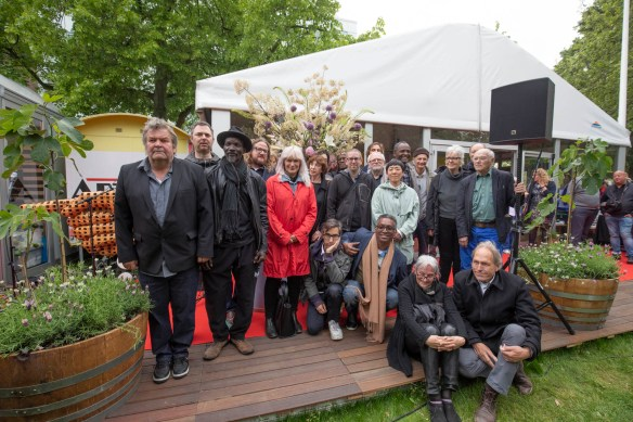 Particapating artists at the opening of ArtZuid 2019