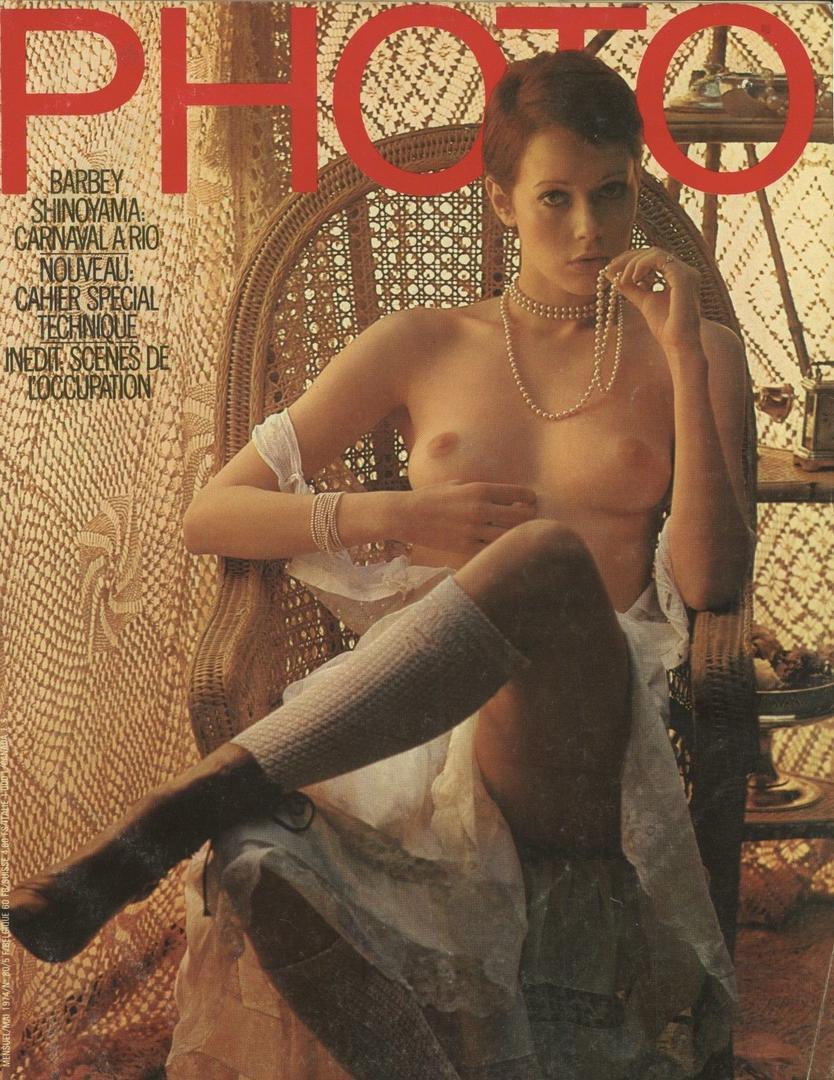 PHOTO magazine may 2067, Photo by Francis Giacobetti, 1974