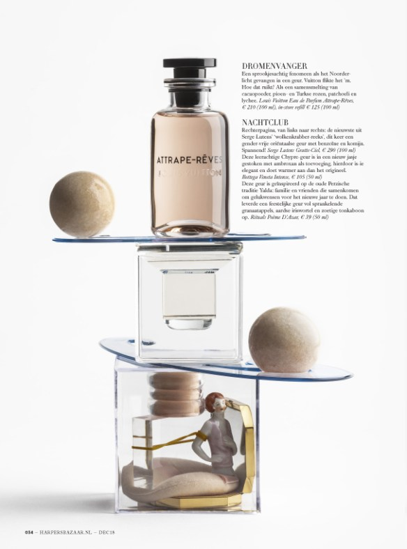 Perfume Stories for Harper's Bazaar Objet D'Amour
