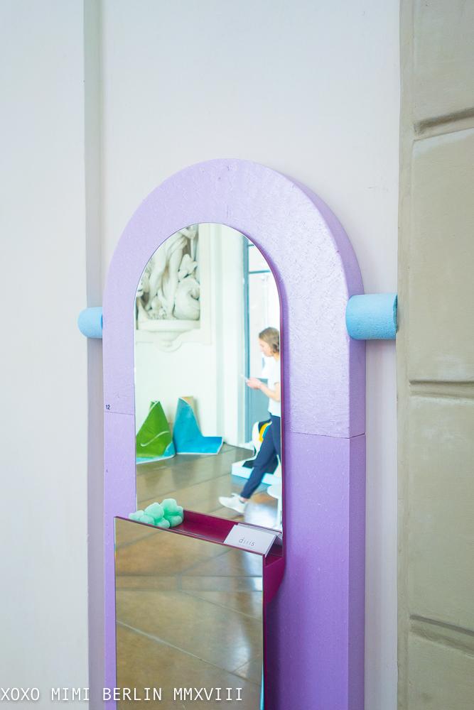 'Ley' Mirror by Diiis Studio
