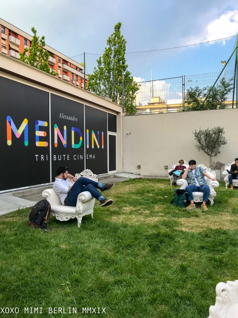 Mendini cinema and chairs