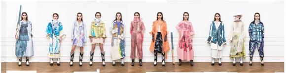 artEZ Fashion Masters 2017 collection Lotte van Dijk. art direction Mimi Berlin, photography JW Kaldenbach