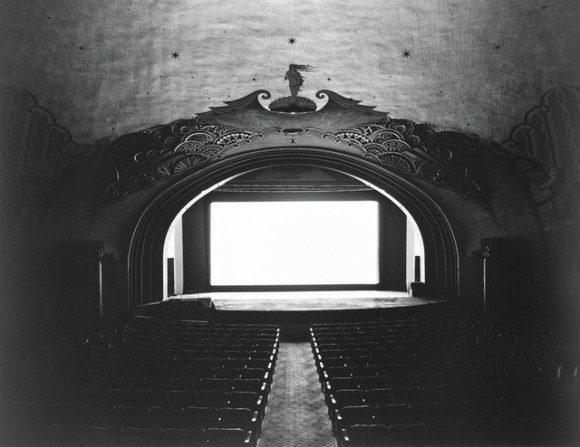 Hiroshi Sugimoto, Avalon Theatre, Catalina Island, 1993. Gelatin silver print, 16 9/16 × 21 3/8 in. (42.1 × 54.3 cm). Edition no. 12/25. Whitney Museum of American Art, New York; purchase with funds from the Photography Committee 95.48 © 1993 Hiroshi Sugimoto