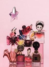 Perfume Family; Sugar Aunties. Mimi Berlin and JW Kaldenbach for Harper's Bazaar NL, BeautyBazaar, issue #3, 2014