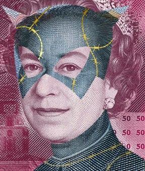Alessandro Rabatti's Artworks Made with Money